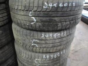 245/60 R18 MICHELIN XICE SNOW TIRES USED (SET OF 4) - 70% TREAD