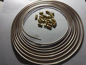 + Hanomag AL28  Kunifer Bremsleitungen rostfrei mit 20 Verschraubungen