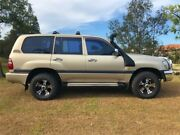 2002 Toyota Landcruiser HDJ100R GXL Gold 5 Speed Automatic Wagon Burleigh Heads Gold Coast South Preview