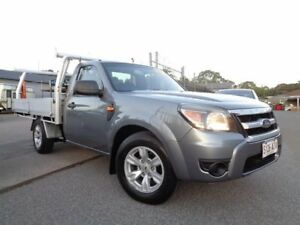 2010 Ford Ranger PK XL (4x2) Grey 5 Speed Manual Cab Chassis Pooraka Salisbury Area Preview