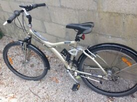 Btwin Full suspension Hybrid Bike