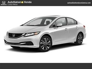 $133 bi weekly LIKE NEW 2015 Honda Civic EX Sedan