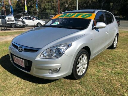 2010 Hyundai i30 FD MY10 SLX Silver 4 Speed Automatic Hatchback Clontarf Redcliffe Area Preview