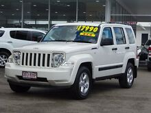 2010 Jeep Cherokee KK MY10 Sport White 4 Speed Automatic Wagon Garbutt Townsville City Preview