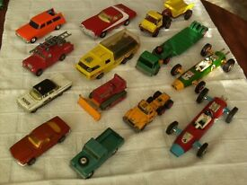 A Quantity of diecast cars and others