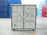 NEW 20 foot sea containers