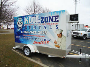 Koolzone Rentals Refrigerated Trailer Units For Rent Kitchener / Waterloo Kitchener Area image 1