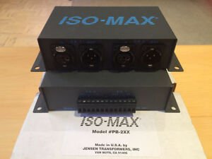Jensen ISO MAX PB-2XX Isolation Transformer MINT!
