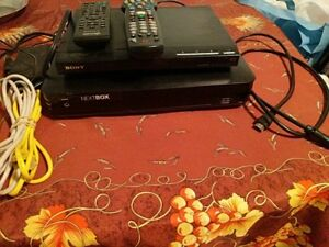 NextBox 9865hd and Sony dvd player