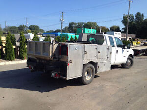 Aluminum Utility Body with Dump Bed for PickUp Truck Sarnia Sarnia Area image 2