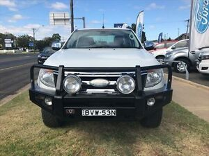 2011 Ford Ranger PX XLT 3.2 (4x4) White 6 Speed Automatic Dual Cab Utility Young Young Area Preview