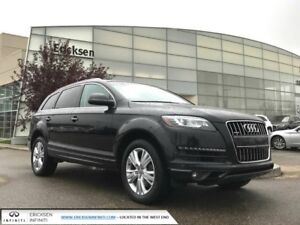 2012 Audi Q7 PREMIUM/ALL WHEEL DRIVE/HEATED SEATS/HEATED WHEEL