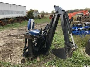 Tractor Skid Steer Backhoe Attachment