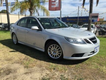 2009 Saab 9-3 440 MY2008 Linear BioPower Silver 5 Speed Sports Automatic Sedan Wangara Wanneroo Area Preview