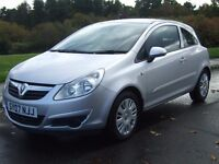 Vauxhall Corsa 1.2i Club 16v , 2007 07, ------ 36000 Miles , 1 Owner From New ----- , Immaculate