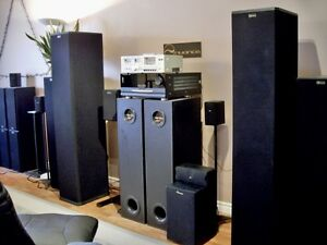nuance Baby Grand 3E Powered Tower Speakers