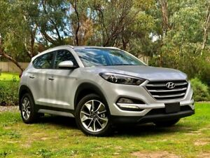 2018 Hyundai Tucson TL MY18 Active X 2WD Silver 6 Speed Sports Automatic Wagon Reynella Morphett Vale Area Preview
