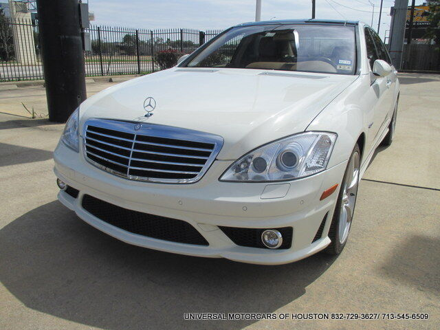 Mercedes-Benz : S-Class S63 AMG 2008 MERCEDES S63 AMG, 1 OWNER, 34K MILES NIGHT VISION, LOADED, IMMAC COND