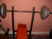 WEIGHTS BENCH,SIT UP BENCH AND WEIGHTS
