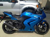 Kawasaki Ninja 2010 with only 2000 km