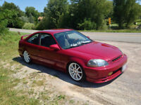 98 civic custom for sale or trade