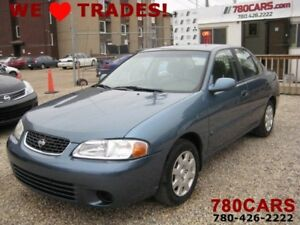 2002 Nissan Sentra GXE - GREAT ON GAS -  WE DO TRADES + BUY CARS