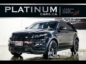 2013 Land Rover Range Rover Evoque Dynamic, Black Limit