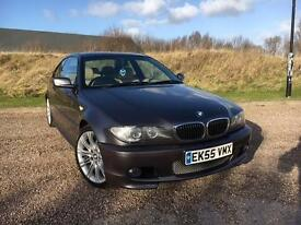 BMW 320 2.2 Ci M-SPORT COUPE *LOW MILES, FSH, FULL LEATHER - IMMACULATE*