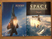2 Huge Aircraft and Spacecraft books