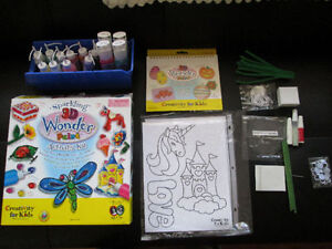 Sparkling 3D Wonder Paint Activity Kit - All-in-One Box