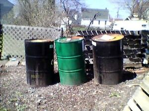 3-45 GALLON BARRELS FOR SALE Please Contact For More Information