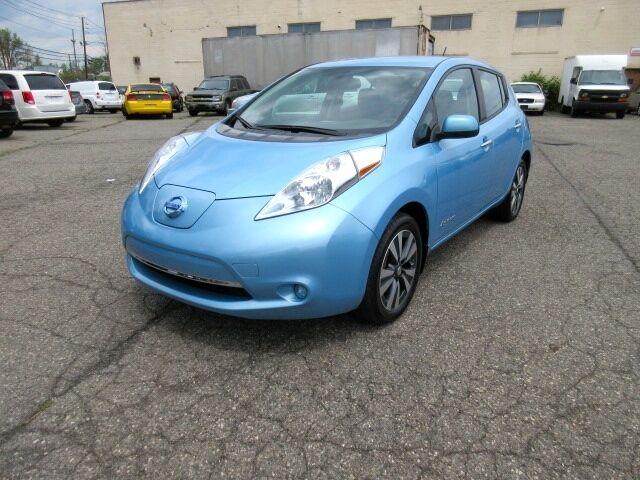 Imagen 1 de Nissan Leaf  blue