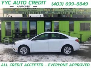 2014 Chevrolet Cruze 1LS *$99 DOWN EVERYONE APPROVED*