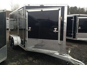 Apache 4-Place Enclosed Snowmobile Trailer