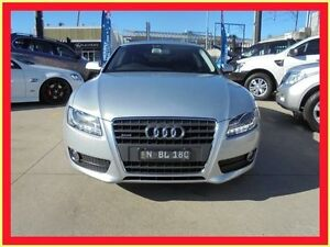 2010 Audi A5 8T MY10 Silver 7 Sports Automatic Dual Clutch Coupe Holroyd Parramatta Area Preview