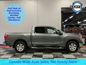 2018 Nissan Titan 4X4,Crew Cab, SV, 5.6L, Back Up Camera