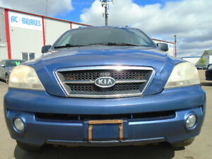 2004 Kia Sorento LX SPORT 4X4---RUNS AND DRIVES EXCELLENT--CLEAN