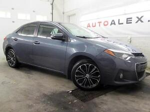 2014 Toyota Corolla S CUIR TOIT CAMERA MAGS 35$/SEMAINE
