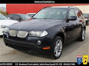 2010 BMW X3 3.0i XDrive/AWD, TOIT PANORAMIQUE, CLEAN CARPROOF
