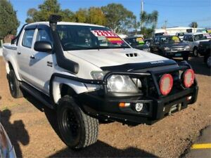 2010 Toyota Hilux KUN26R MY10 SR White 5 Speed Manual Cab Chassis Minchinbury Blacktown Area Preview