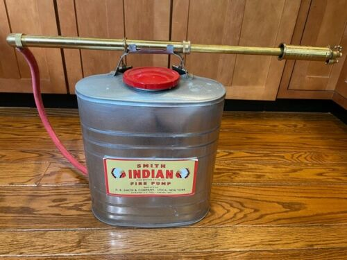 Smith INDIAN Wildland Fire Pump 5 Gal. Tank Complete Assembled