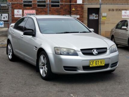 2006 Holden Commodore VE Omega V Silver 4 Speed Automatic Sedan Granville Parramatta Area Preview