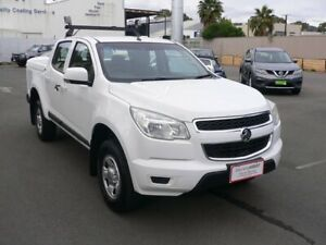 2015 Holden Colorado RG MY15 LS Crew Cab 4x2 White 6 Speed Sports Automatic Utility Melrose Park Mitcham Area Preview