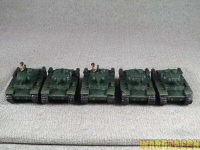 WDS painted The World War II SOVIET Platoon KV-1S Company tank p73