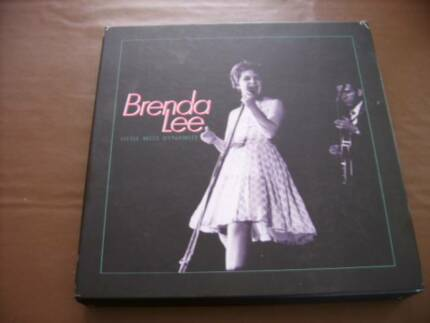 LITTLE MISS DYNAMITE BRENDA LEE BOXED 4 CD SET (OCT 1995) Frankston Frankston Area Preview