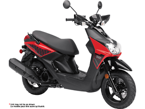 YAMAHA BWS 125 HEAT RED 2017