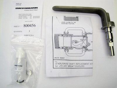 Emco Wheaton 800456 Levercross Shaft Replacement Kit For J73 Dry Brake Couplers
