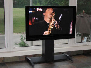 "42"" Panasonic PZ-Series Plasma TV with Motorized Up/Down Stand"