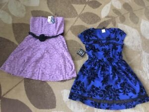 NWT Dress x 2, Size 13 or Large Le Chateau & Bryan's