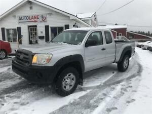 2010 Toyota Tacoma Access Cab 4x4 with All Terrains 4 Cylinder
